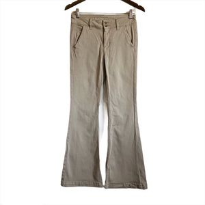 AMERICAN EAGLE Flare Super Stretch Bell Bottoms
